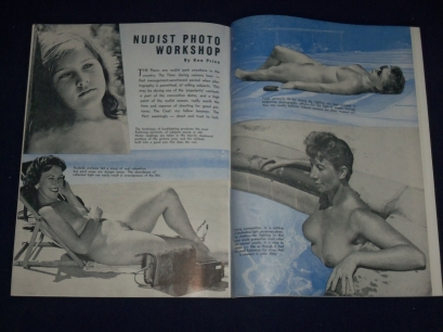 The kind of nudist magazines found in Jackson's possession