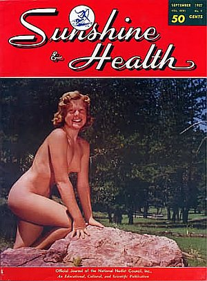 Sunshine and health nudist